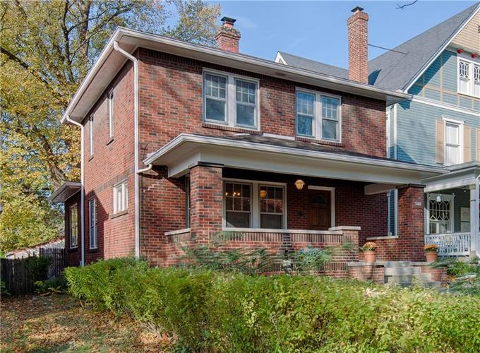 540 Woodruff Place Middle Drive Indianapolis IN 46201   MLS 21679728   photo 1