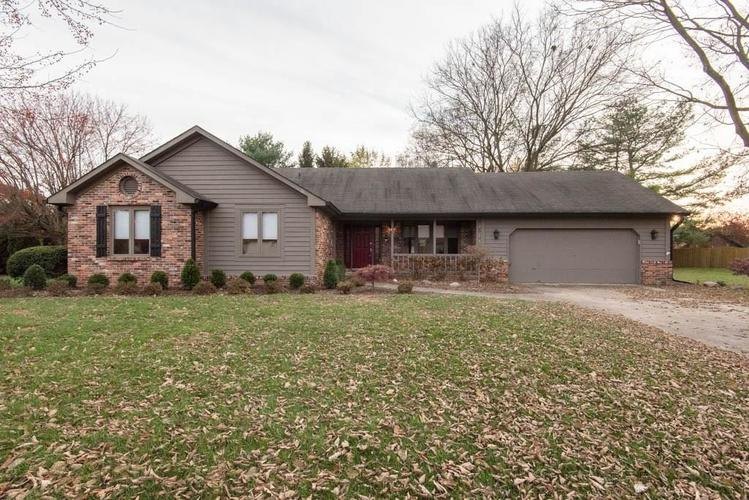 4257 W Hunters Ridge Lane Greenwood, IN 46143 | MLS 21680073
