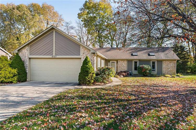 8707  Green Branch Lane Indianapolis, IN 46256 | MLS 21680113