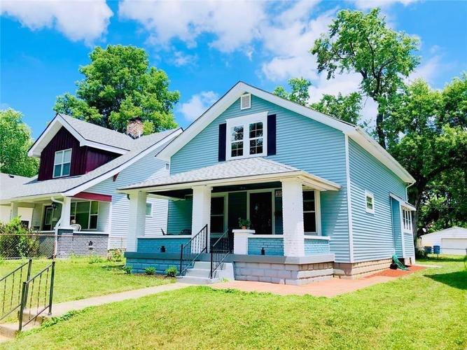 4133 N BYRAM Avenue Indianapolis, IN 46208 | MLS 21680116