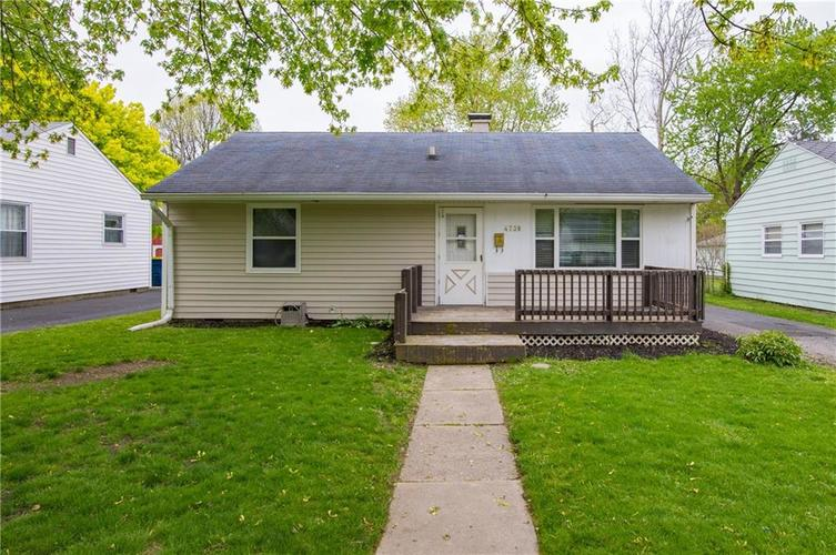 4738 N Mitchner Avenue Indianapolis IN 46226   MLS 21681062   photo 1