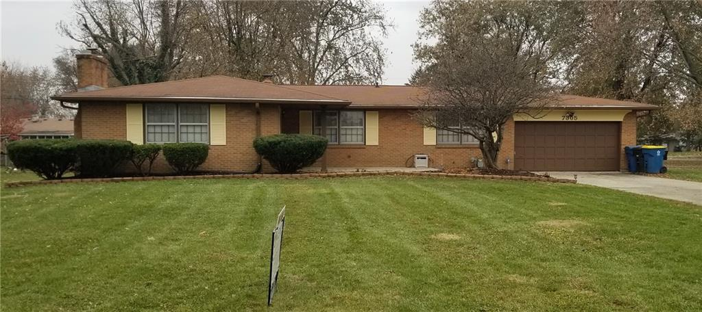 7305 E 55th Street Indianapolis, IN 46226 | MLS 21681372