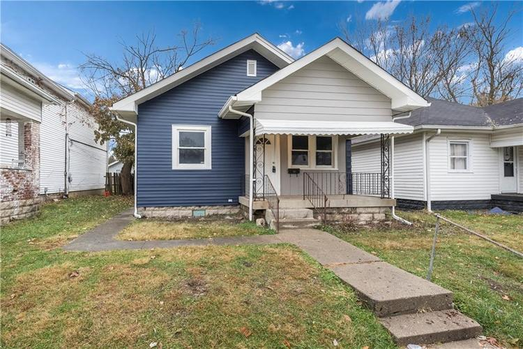 731 N Bosart Avenue Indianapolis, IN 46201 | MLS 21681826