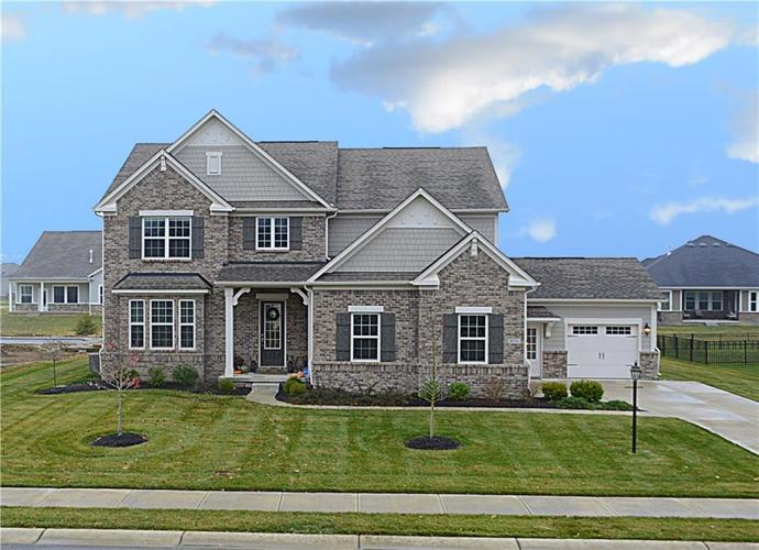 16311 Hunting Meadow Drive Fortville, IN 46040   MLS 21683419   photo 42