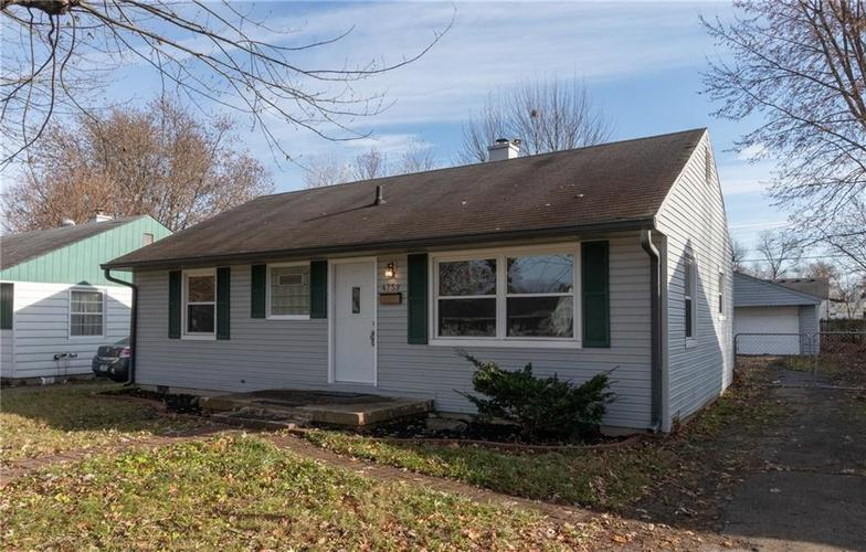 4759 N MITCHNER Avenue Indianapolis, IN 46226 | MLS 21683984