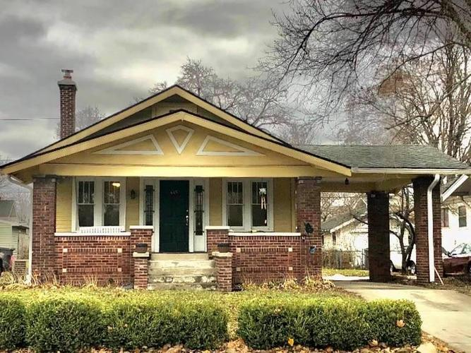 445 N Emerson Avenue Indianapolis, IN 46219 | MLS 21684323
