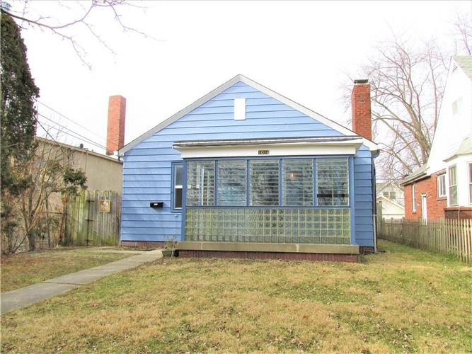 1014 N BOSART Avenue Indianapolis IN 46201 | MLS 21684531 | photo 1