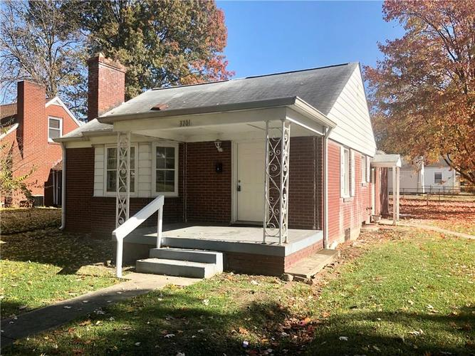 3701 N Chester Avenue Indianapolis, IN 46218   MLS 21684870