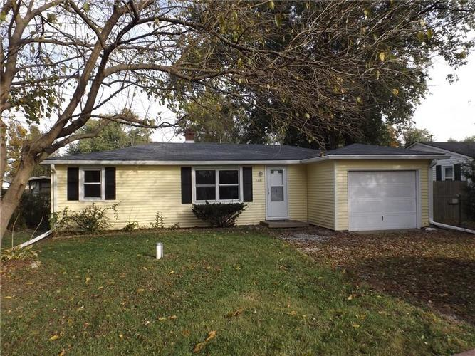 5640 N Clover West Drive Fairland, IN 46126 | MLS 21684878