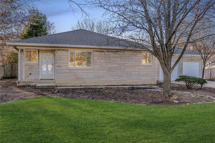 6324 Homestead Drive Indianapolis, IN 46227 | MLS 21685305 | photo 1