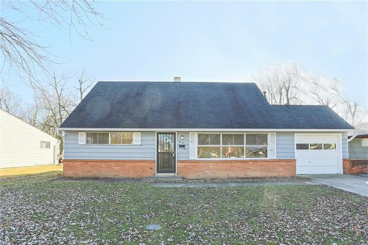 6131 E 40th Street Indianapolis, IN 46226 | MLS 21685437