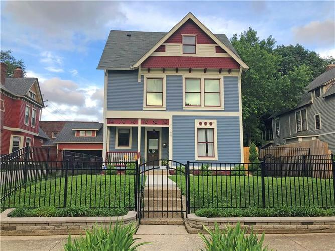1649 N Central Avenue Indianapolis, IN 46202 | MLS 21685727 | photo 1