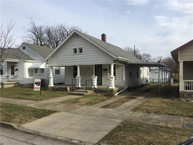 641 N ROCHESTER Avenue Indianapolis, IN 46222 | MLS 21685967