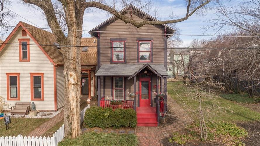 626 E Arch Street Indianapolis, IN 46202   MLS 21687544   photo 1