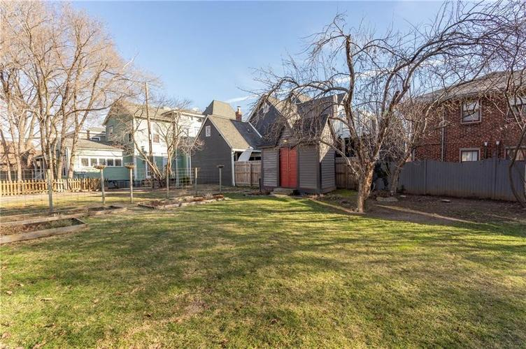 626 E Arch Street Indianapolis, IN 46202   MLS 21687544   photo 23