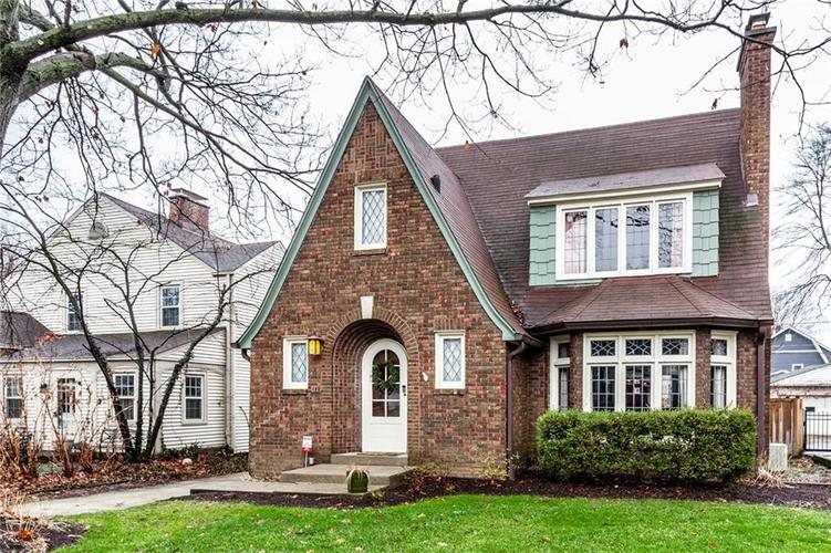 245 W 46 Street Indianapolis, IN 46208 | MLS 21688040