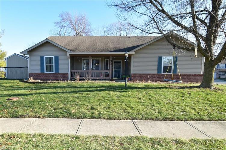 5603 Crystal Woods Drive Indianapolis, IN 46224 | MLS 21688437 | photo 1