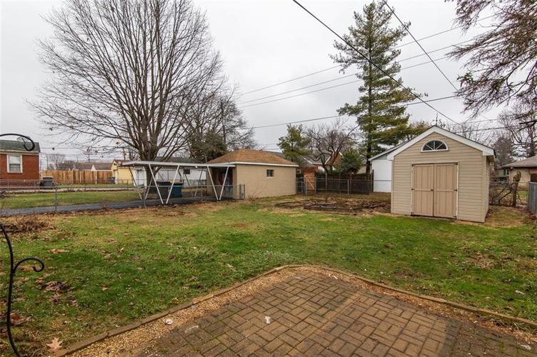 1113 N DOWNEY Avenue Indianapolis, IN 46219   MLS 21688994   photo 21