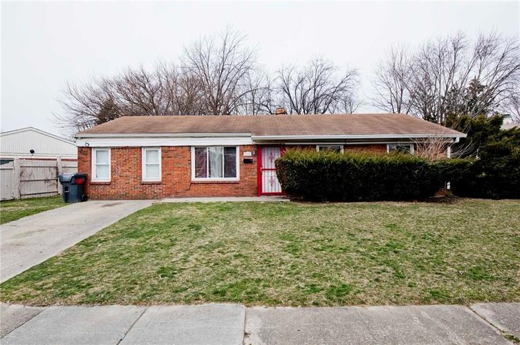2314  Courtney Road Indianapolis, IN 46219 | MLS 21689151