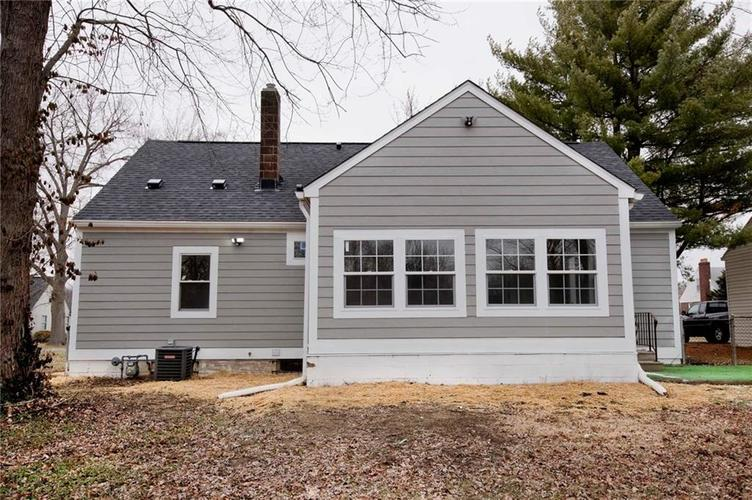 4137 Norrose Drive Indianapolis, IN 46226 | MLS 21689244 | photo 21