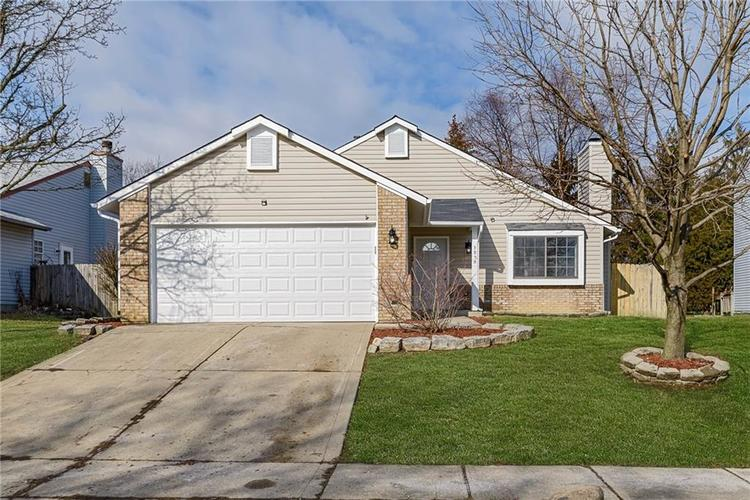 5820 BUCK RILL Drive Indianapolis, IN 46237   MLS 21690294   photo 1