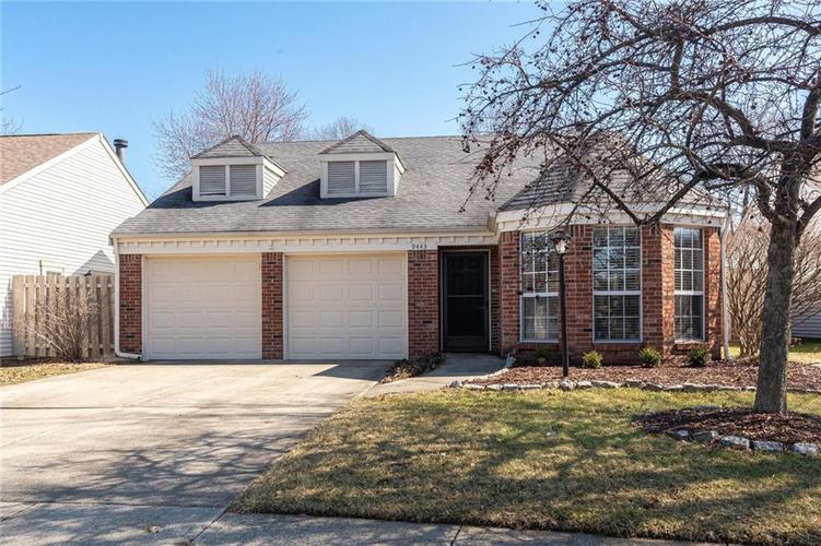 9443 Discovery Drive W Indianapolis IN 46250 | MLS 21692799 | photo 1