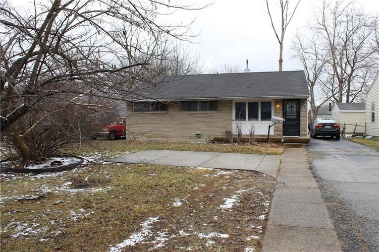 5424 E 16th Street Indianapolis, IN 46218 | MLS 21694243 | photo 1