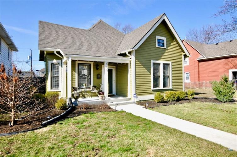 540 N Beville Avenue Indianapolis IN 46201 | MLS 21694814 | photo 1