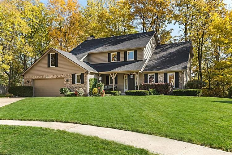 13715 Thistlewood Drive W Carmel, IN 46032   MLS 21694875   photo 2