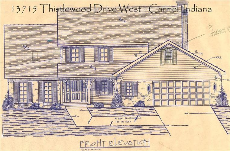 13715 Thistlewood Drive W Carmel, IN 46032   MLS 21694875   photo 22