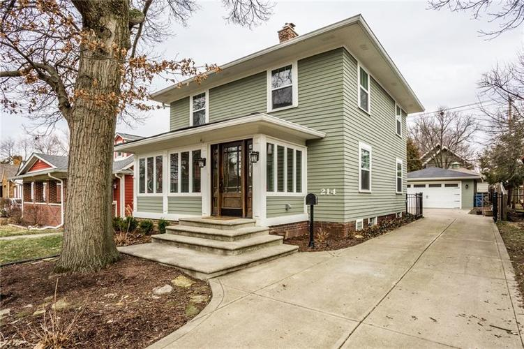 214 W 44th Street Indianapolis, IN 46208 | MLS 21696062 | photo 1