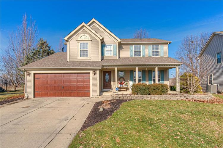 7848 COBBLESPRINGS Drive Avon IN 46123 | MLS 21696095 | photo 1