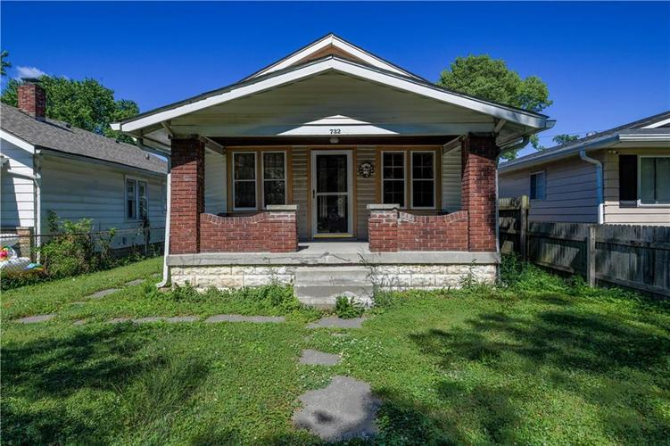 732 N Rochester Avenue Indianapolis, IN 46222   MLS 21696132
