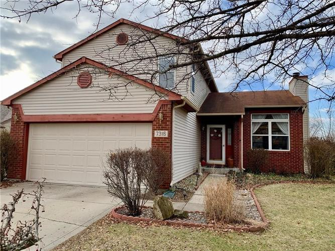7316 RED ROCK Road Indianapolis, IN 46236 | MLS 21696708 | photo 1