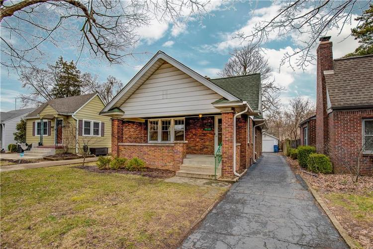 6125 Rosslyn Avenue Indianapolis, IN 46220 | MLS 21696835 | photo 1