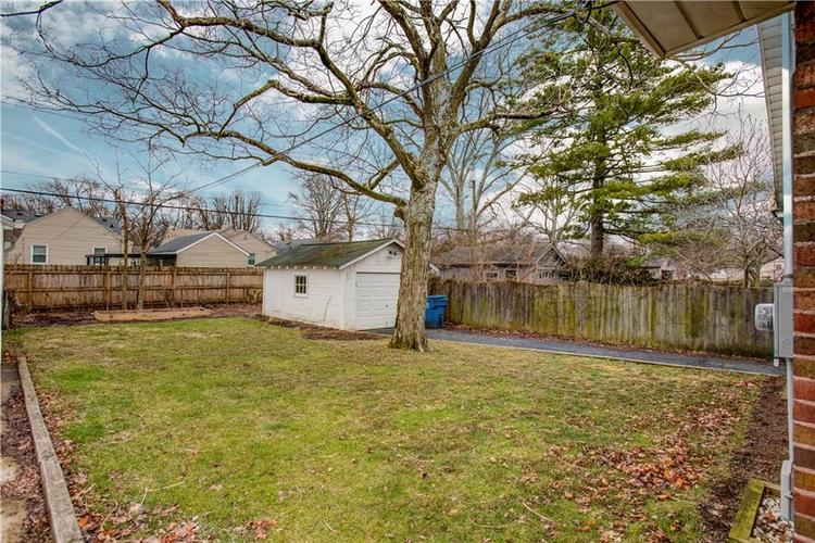 6125 Rosslyn Avenue Indianapolis, IN 46220 | MLS 21696835 | photo 25