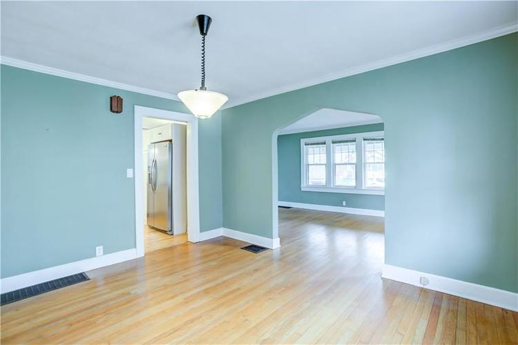 6125 Rosslyn Avenue Indianapolis, IN 46220 | MLS 21696835 | photo 7