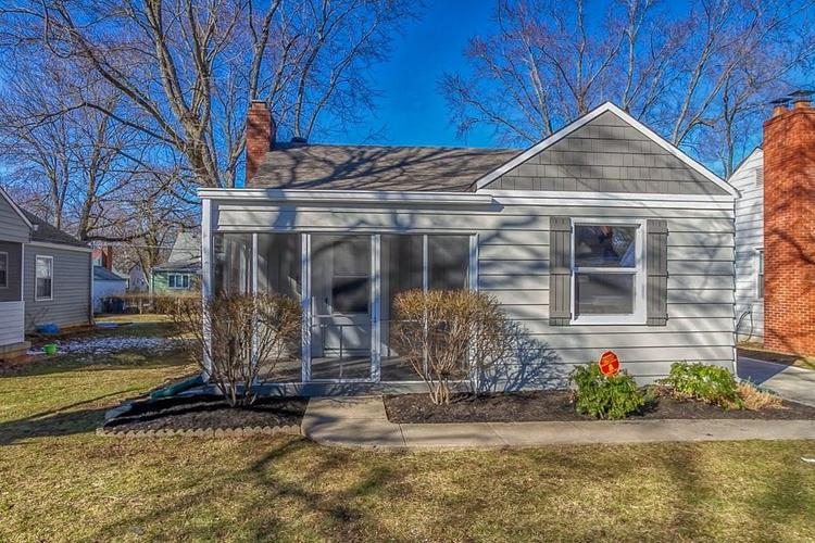 2602 DELL ZELL Drive Indianapolis IN 46220 | MLS 21698031 | photo 1