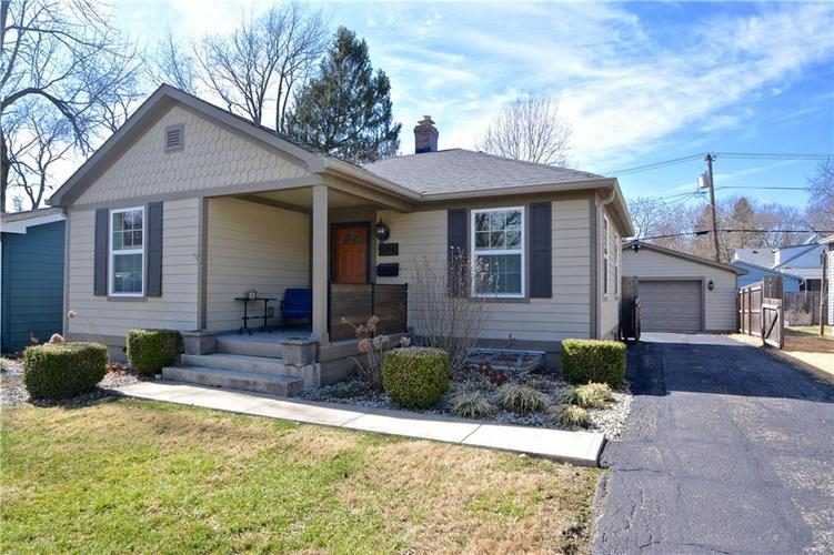 5816 Rosslyn Avenue Indianapolis IN 46220 | MLS 21698790 | photo 1