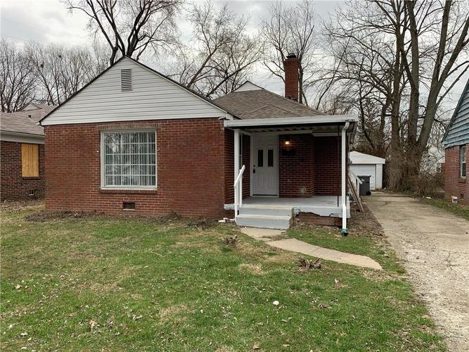 3557 Forest Manor Avenue Indianapolis IN 46218 | MLS 21698967 | photo 1