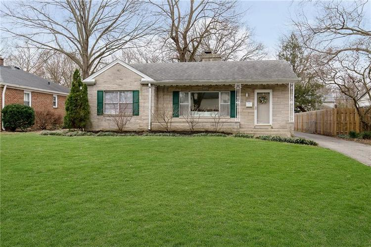 1155 IVY Lane Indianapolis, IN 46220   MLS 21699285   photo 1