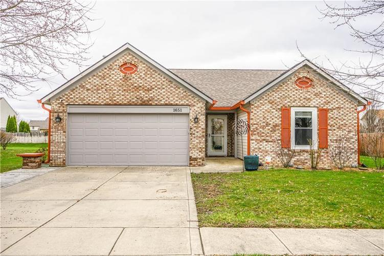 1651 TURNING LEAF Drive Franklin IN 46131 | MLS 21699389 | photo 1