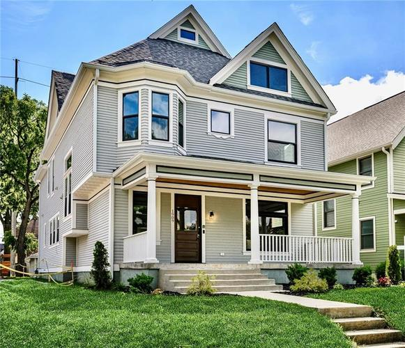 1909 N New Jersey Street Indianapolis, IN 46202 | MLS 21699712