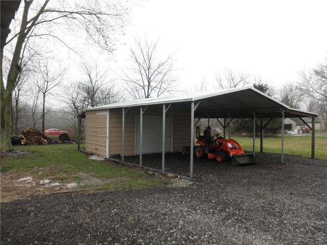 12738 N Slideoff Road Camby, IN 46113 | MLS 21701258 | photo 16