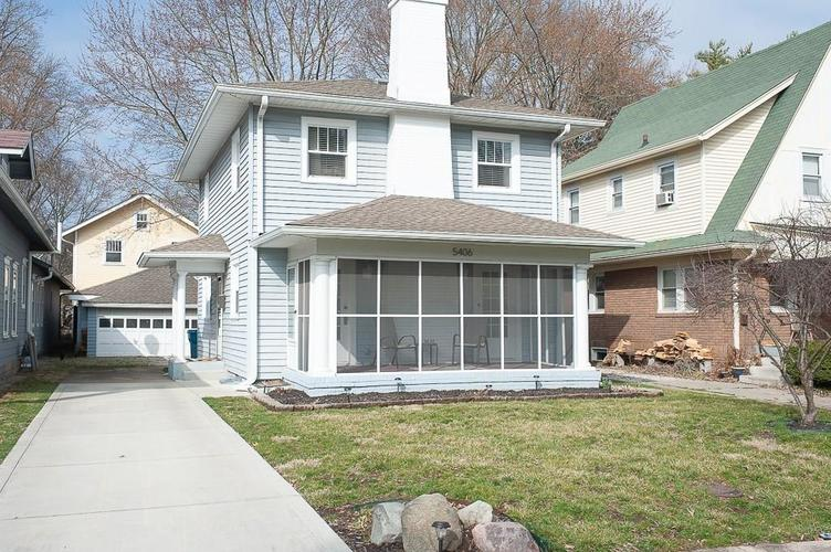 5406 BROADWAY Street Indianapolis, IN 46220 | MLS 21701562 | photo 1