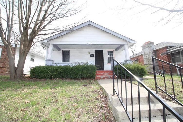2445 N Parker Avenue Indianapolis IN 46218 | MLS 21702171 | photo 1