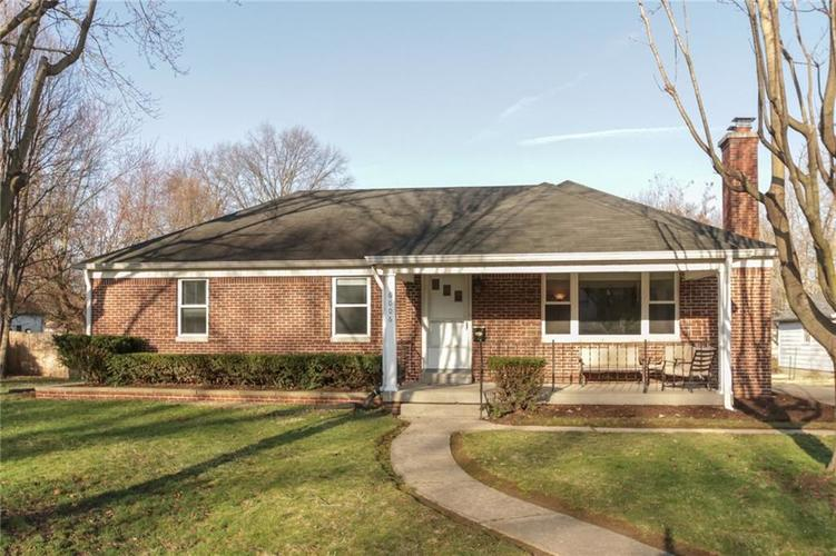 6006 N Dearborn Street Indianapolis IN 46220 | MLS 21702390 | photo 1