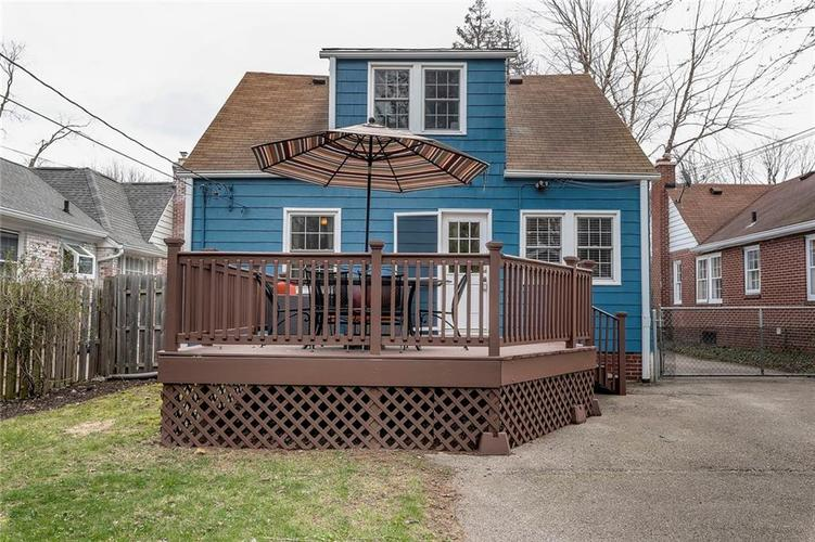6026 HAVERFORD Avenue Indianapolis IN 46220 | MLS 21703398 | photo 44