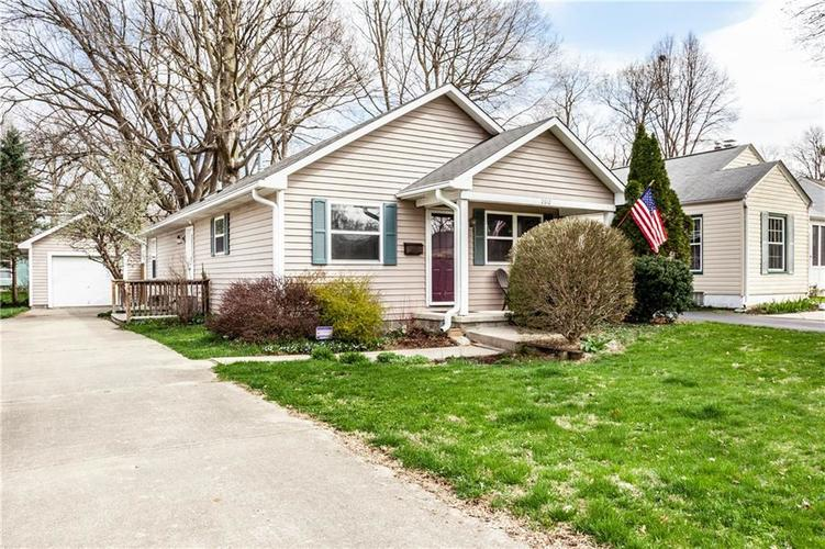 2612 E Northgate Street Indianapolis IN 46220 | MLS 21703503 | photo 1