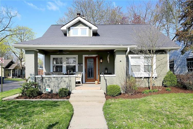 4802 Guilford Avenue Indianapolis IN 46205 | MLS 21704281 | photo 1